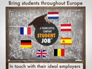 StudentJob-brings students throughout Europe in touch with their ideal employers