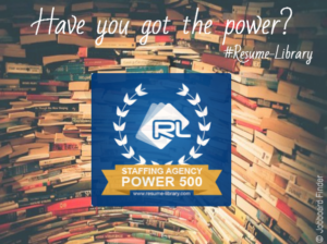 Have you got the power? USA Staffing Agency Power 500 #Resume-Library