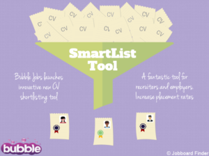 Bubble Jobs Launches Innovative New CV Shortlisting Tool