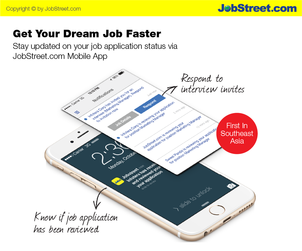 New features on Jobstreet.com mobile App