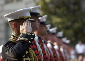 56% of organizations do NOT currently employ ex-military staff