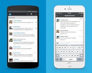 LinkedIn new messaging