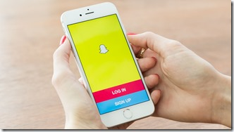 Snapchat-log-in-screen