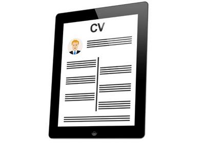 CV on iPad