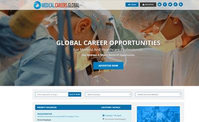 medical careers global homepage