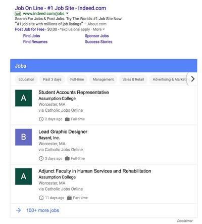 Google for Jobs is here! | Jobboard Finder News