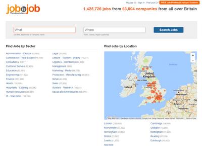 jobisjob homepage