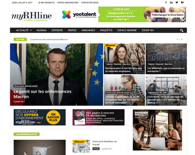 myRHline homepage