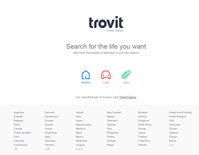 trovit countries