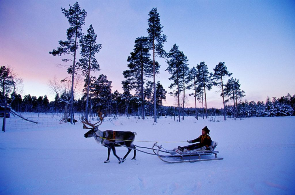 Tourism is becoming increasingly in the Lapland region