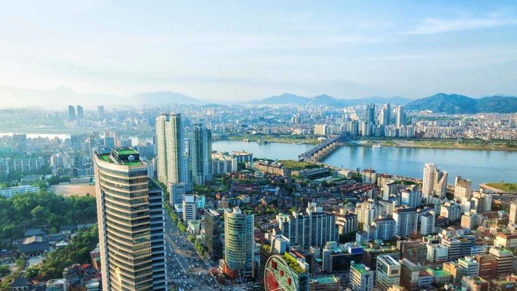 The capital Seoul is the primary wealth creator