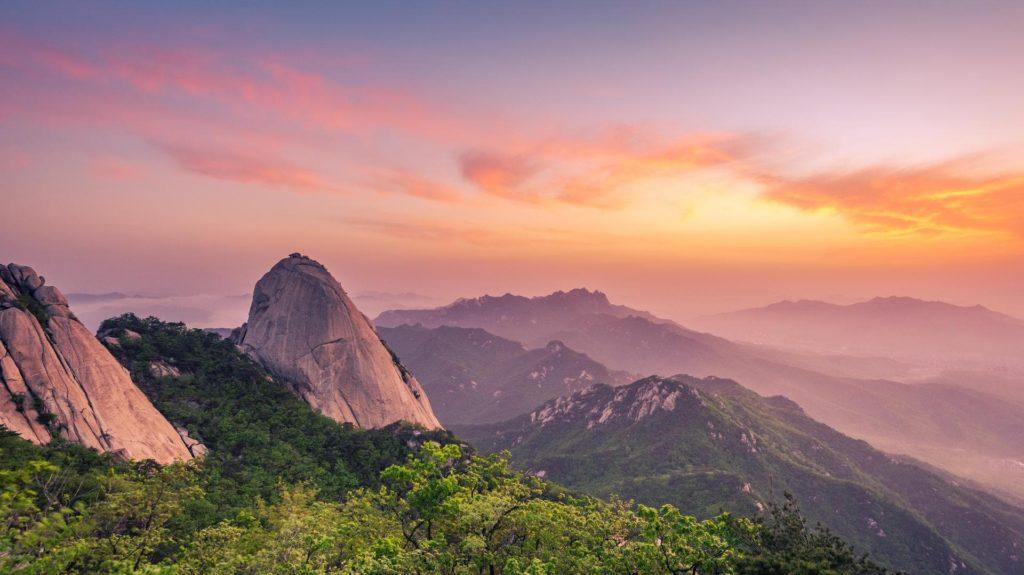 South Korea has a range of landscapes and UNESCO sites