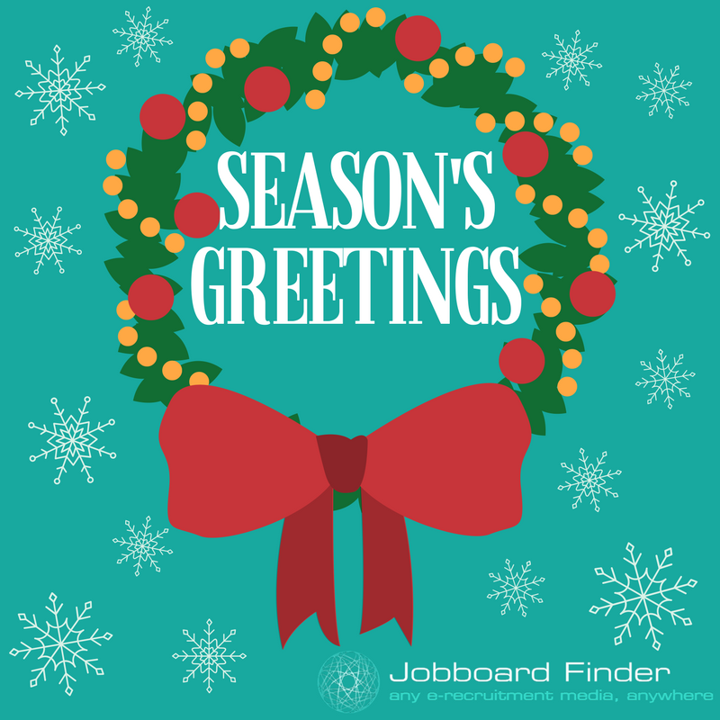 Season's greetings from Jobboard Finder