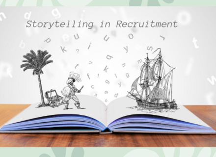 A Story of Storytelling in Recruitment