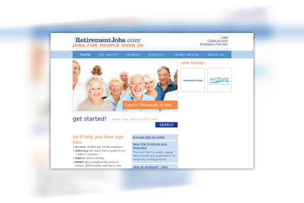 Retirement Jobs