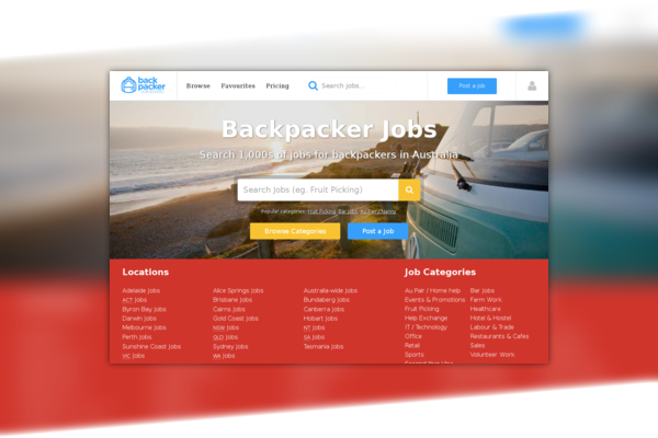 Backpacker Job Board