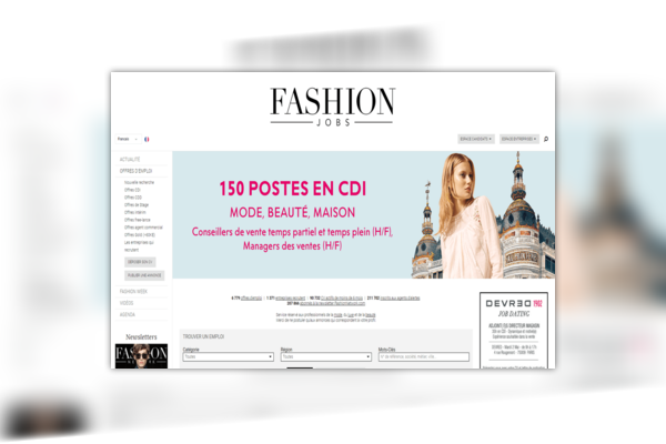 Fashion Jobs