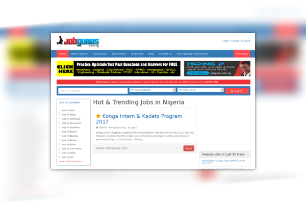 Jobgurus Nigeria
