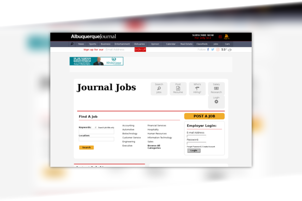 ABQ Journal - Jobs
