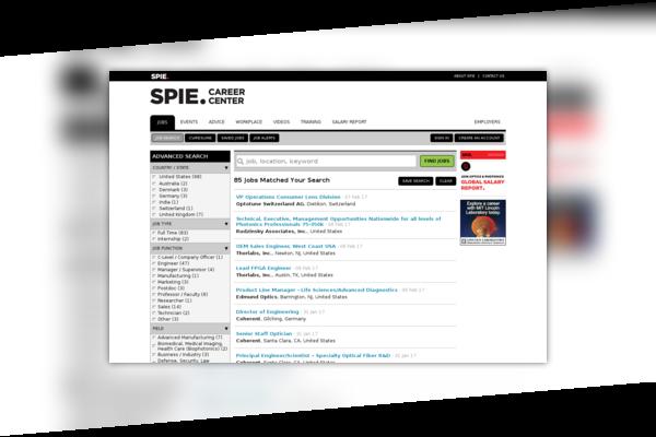 SPIE Career Center