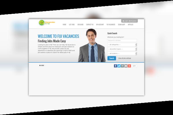 Vacancies in fiji