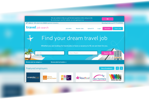 Travel Job Search